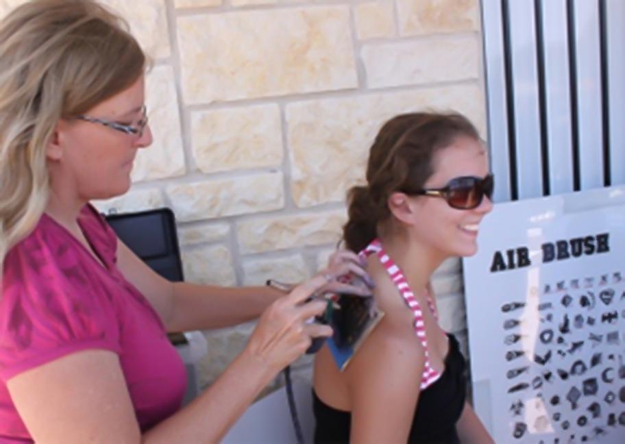 Air Brush Tattoo Artist Booking