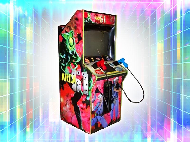 Area 51 Arcade Shooter Game Rental