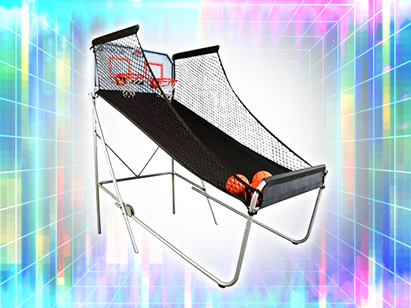 Double Shot Free Throw Competition Rental