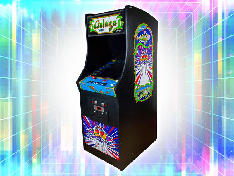 Galaga Arcade Cabinet Rental