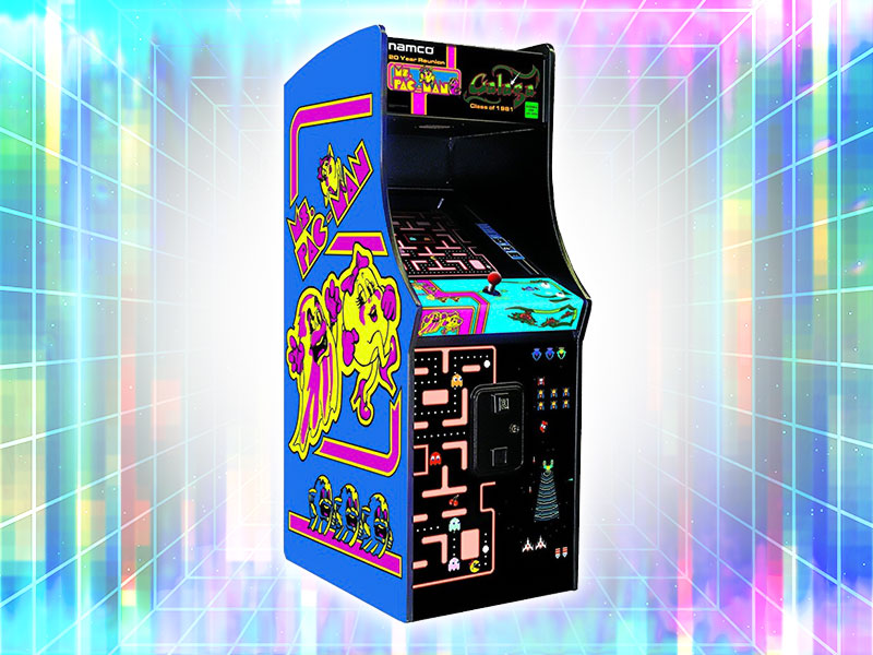 Ms. Pac Man Arcade Cabinet Rental