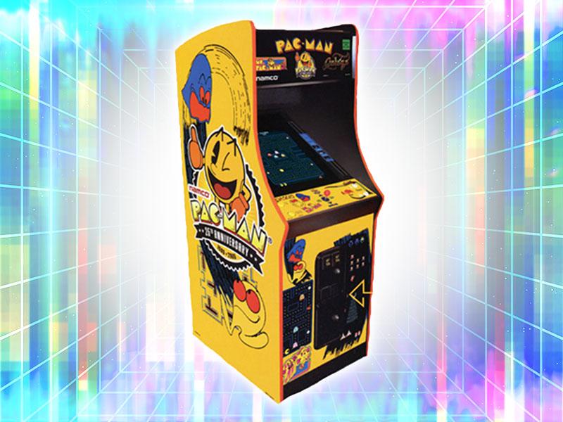 Pac Man 25th Anniversary Arcade Cabinet Rental