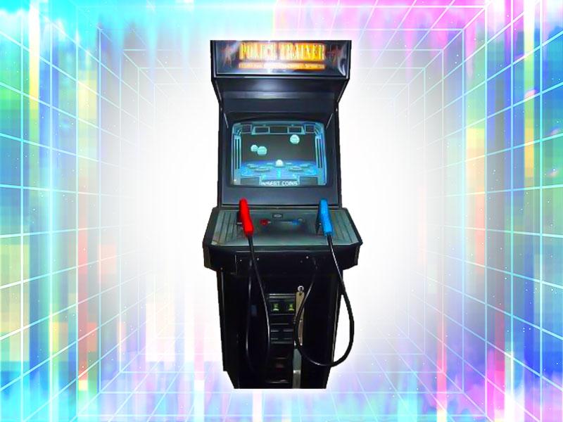 Police Trainer Arcade Cabinet Rental