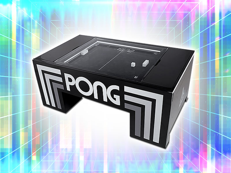 Atari Pong Table Rental