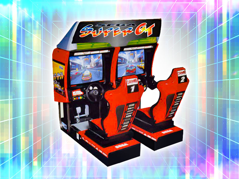 SEGA Super GT 2 Player Racing Rental