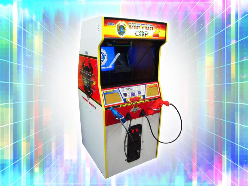 Virtual Cop 2 Arcade Cabinet Machine Rental