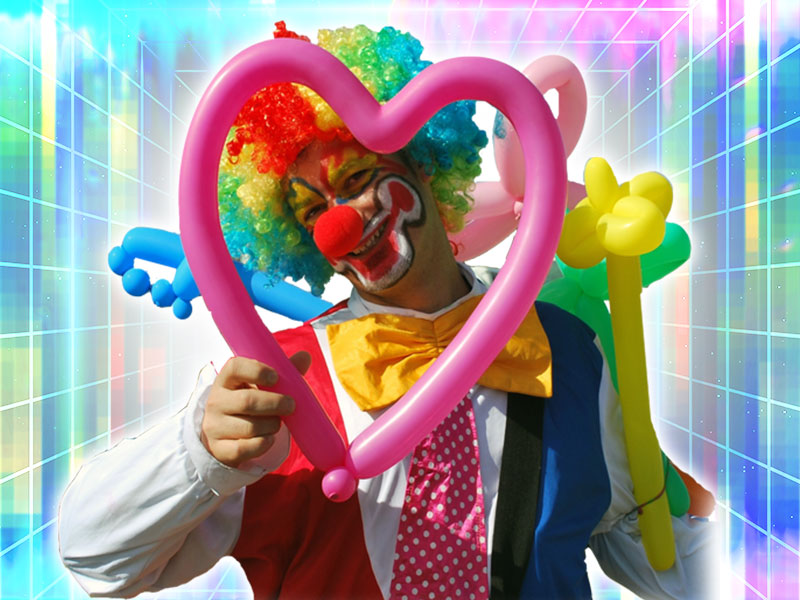 Book clown for event