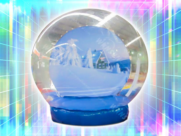 Giant Inflatable Snow Globe ($1050)