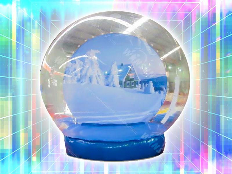 Jumbo Inflatable Snow Globe Rental