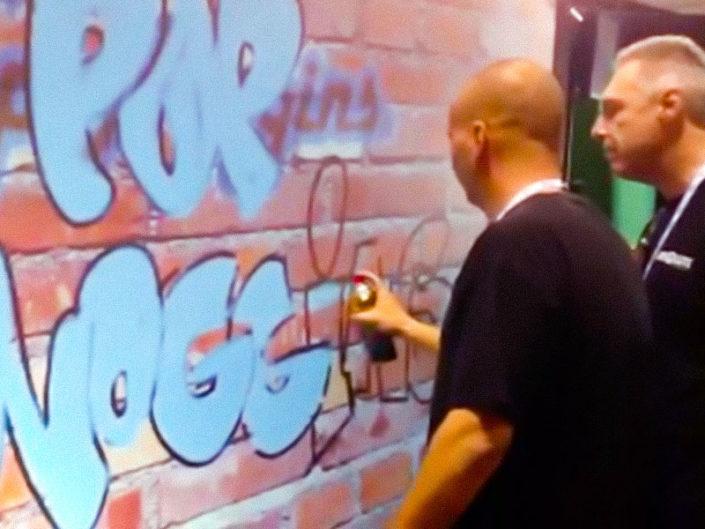Graffiti Wall ($900)