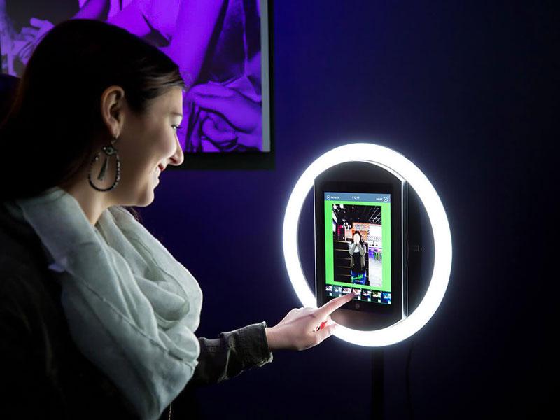 Halo Digital Photobooth Rental