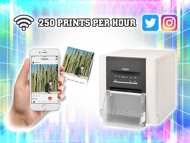 Social Media Hashtag Printer Rental