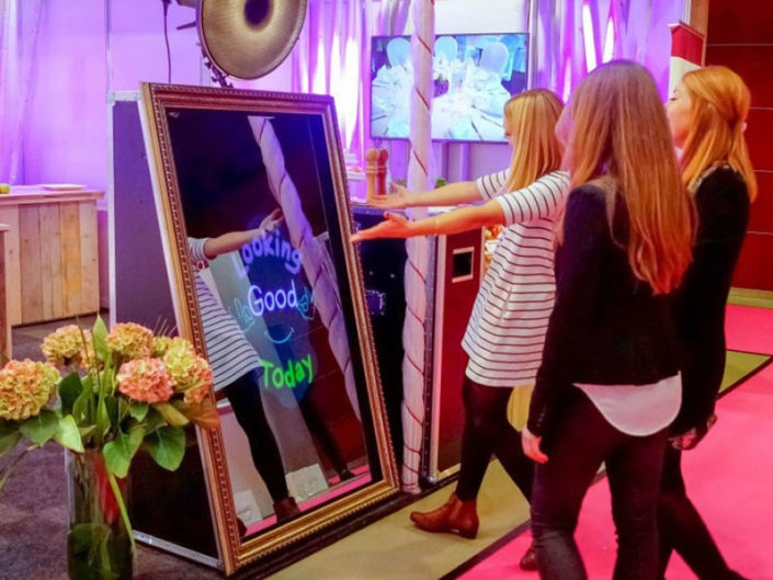 Mirror Me Photo Booth ($750)