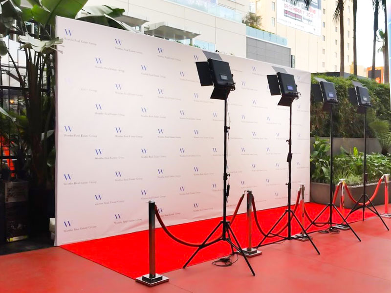 Red Carpet Photo Session Rental