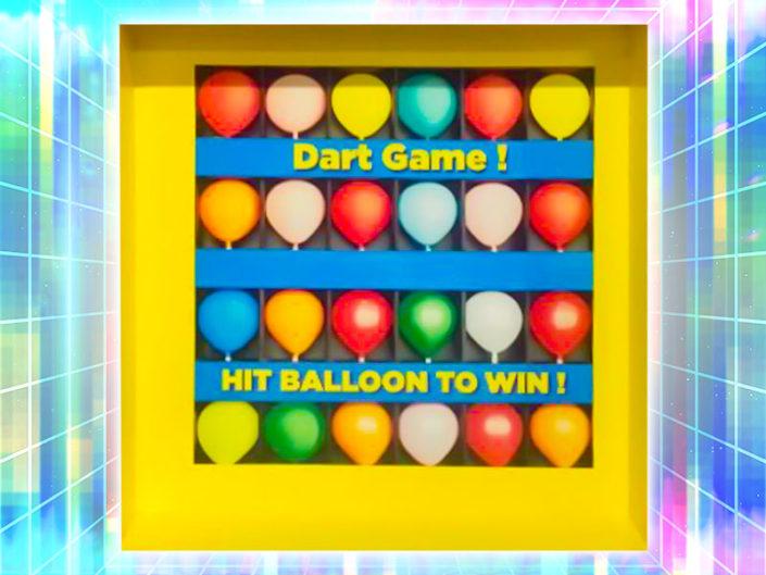 Balloon Dart Board ($50)