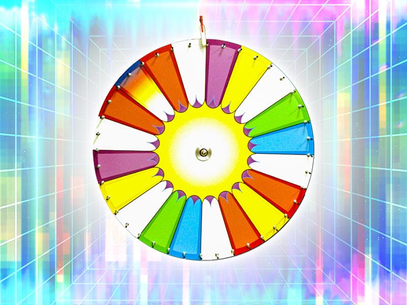 Spin Wheel Rental