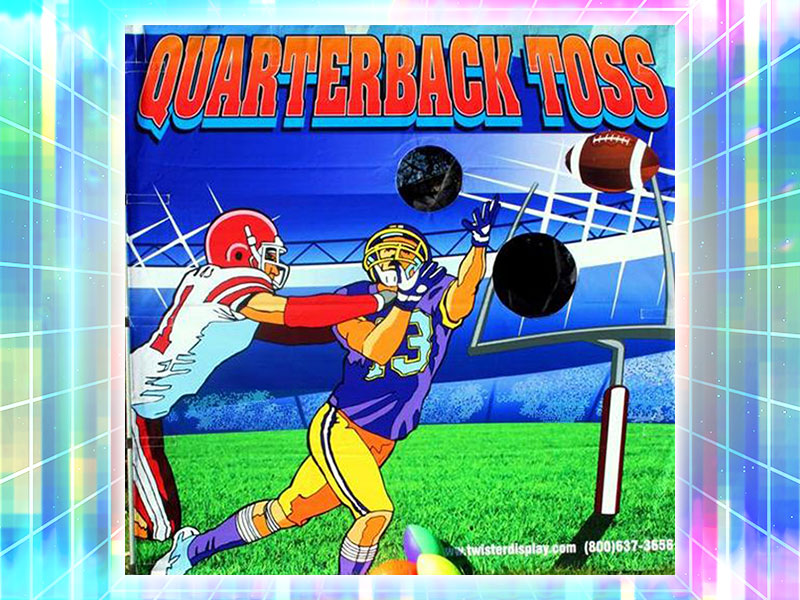 QB Toss Carnival Game Rental