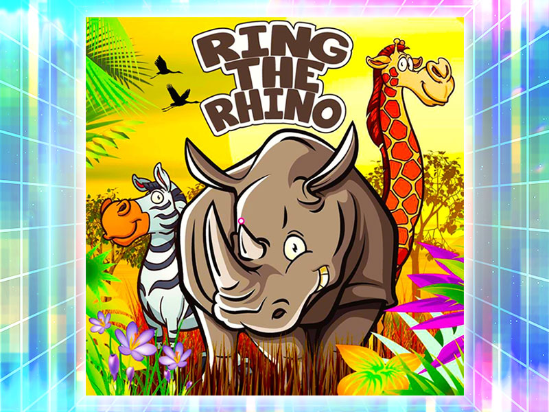 Rhino Ring Throw Game