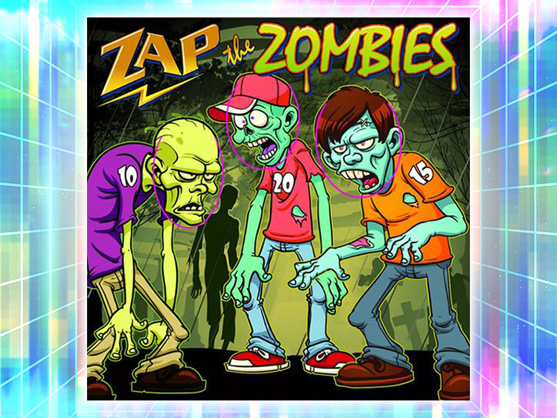 Zap the Zombies Throwing Carnival Game Rental
