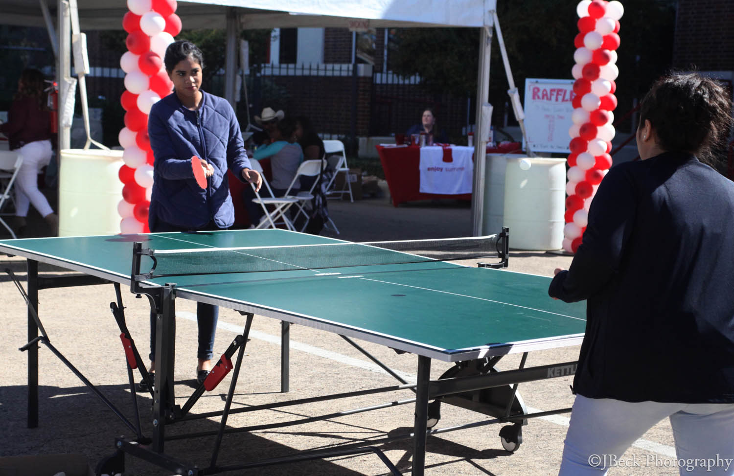 Rent a ping pong table for a company party!