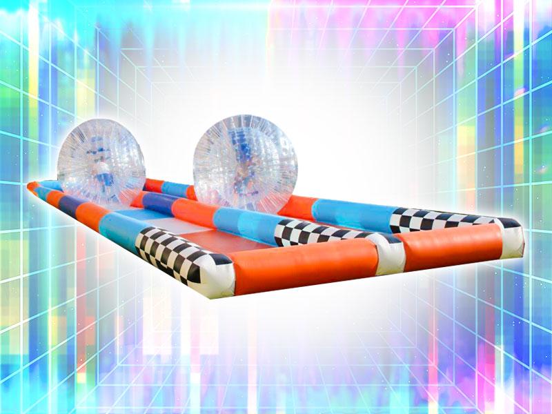 Jumbo Hamster Ball Race Game Rental