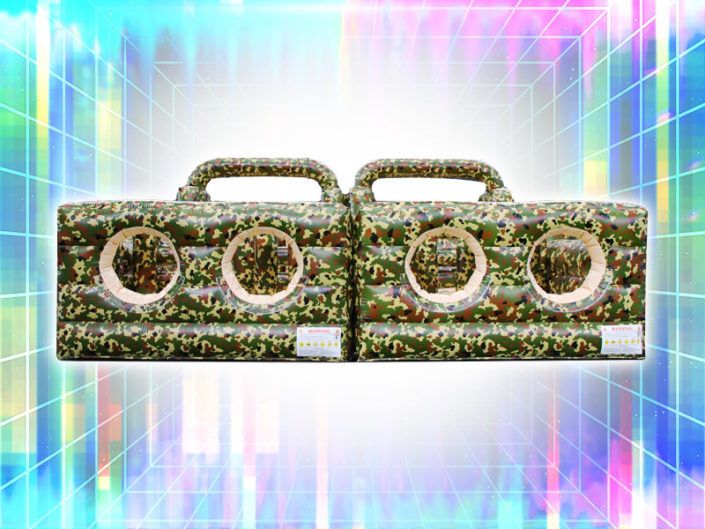 4 Man, 7 Element Camo Obstacle Course ($725)