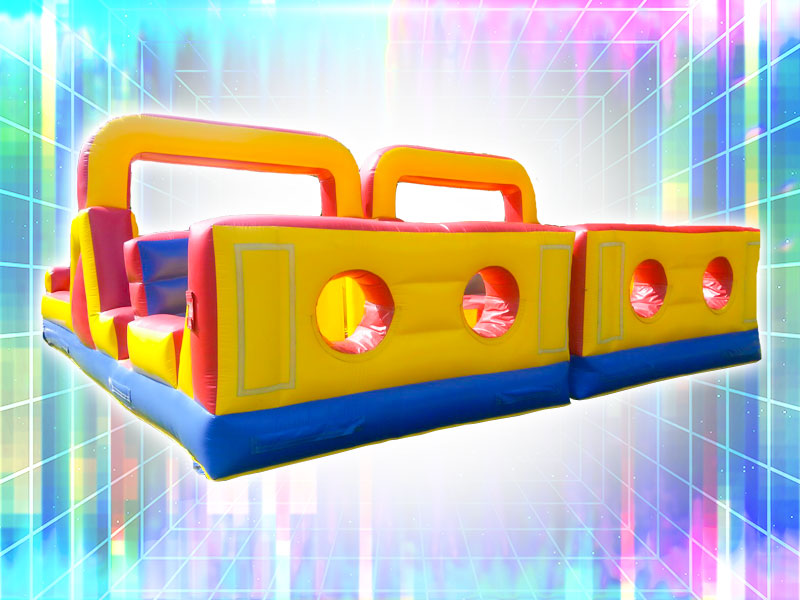 4 Player Obstacle Course Rental