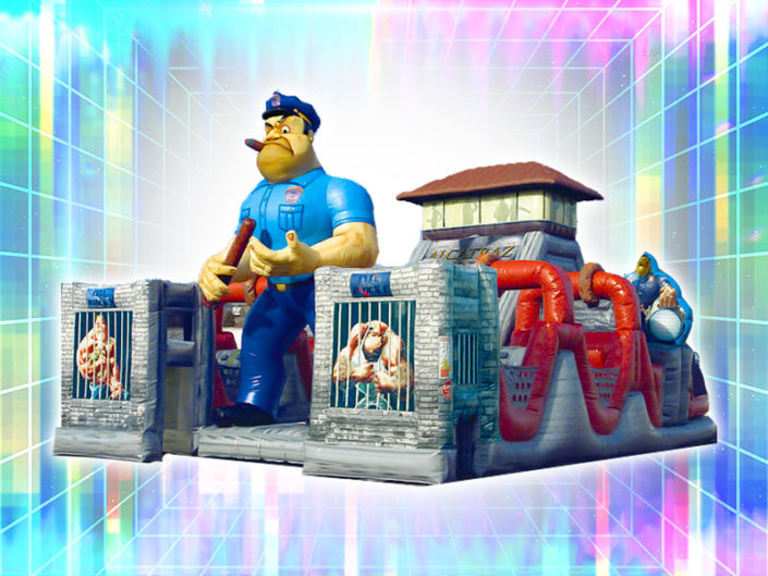 Alcatraz Inflatable Obstacle Course ($875)
