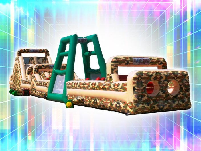Boot Camp Inflatable Obstacle Course ($525)