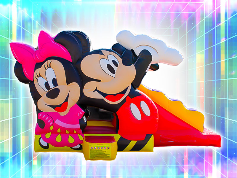 Mickey and Minnie 3D Bounce House Rental