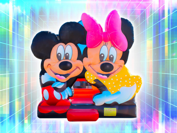Mickey/Minnie Bounce House ($150)