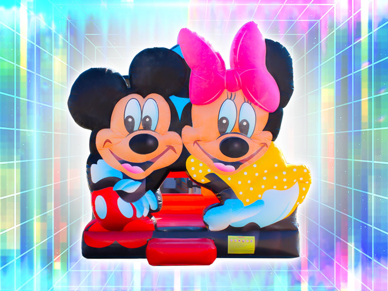 Mickey Mouse and Minnie Mouse Bounce Castle Rental