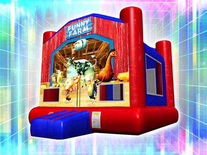 Barnyard Funny Farm Bounce House ($150)