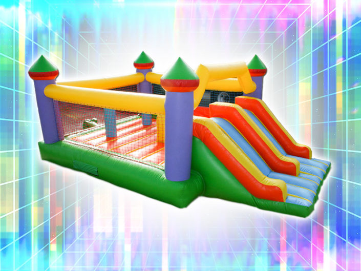 Castle Combo Bounce House ($225)