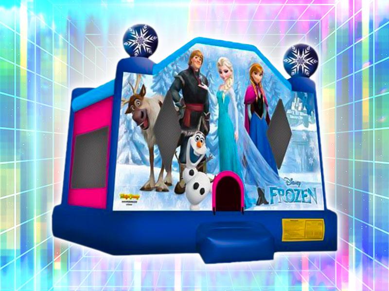 Frozen Bounce Castle Rental