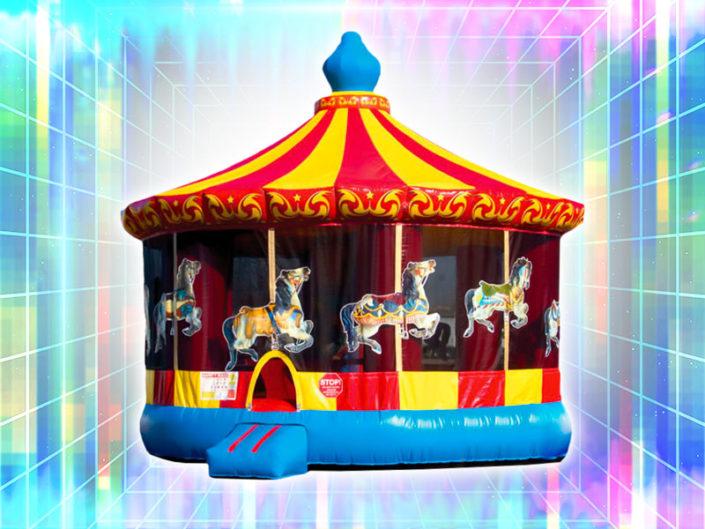 Carousel Bounce House ($300)