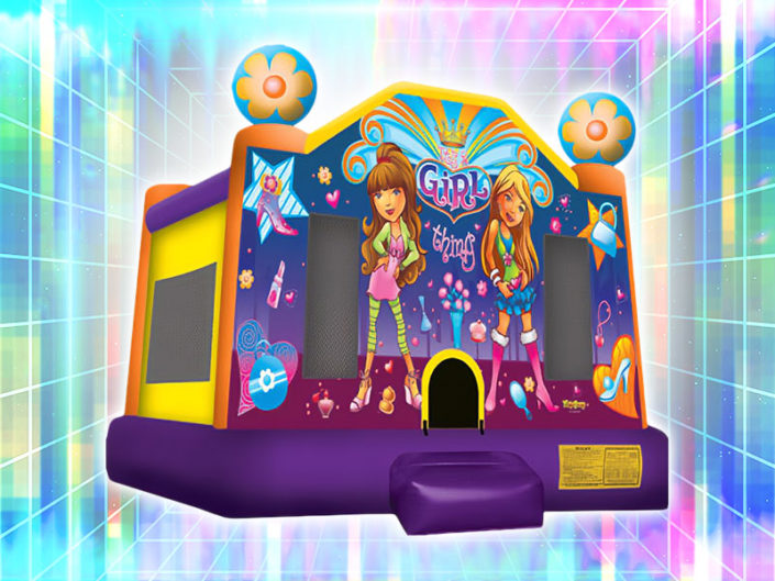 It's a Girl Thing Bounce House ($150)
