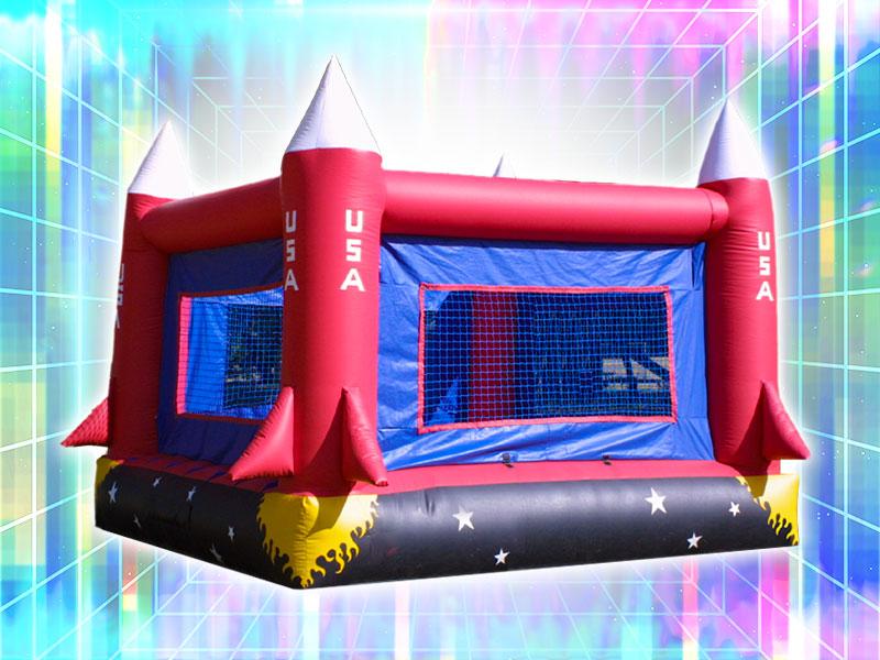 Spaceship Bounce Castle Rental