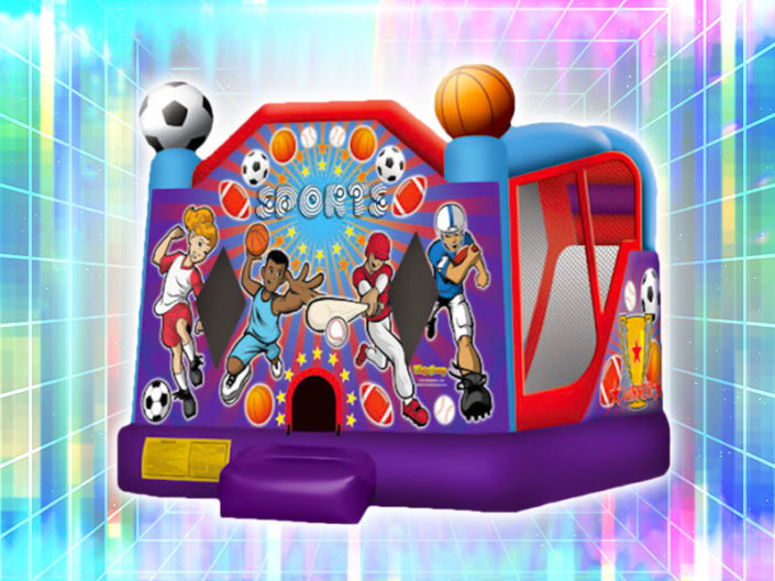 Sports Themed Bounce House ($150)