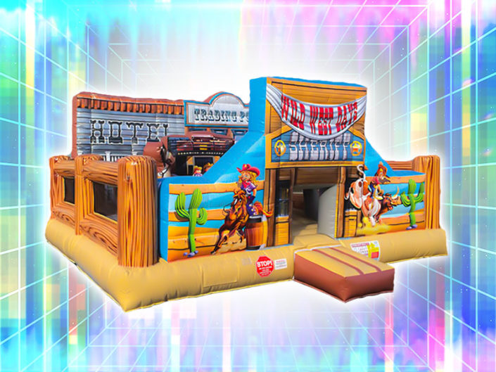 Wild West Inflatable Playland ($225)