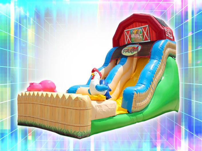 Funny Farm Wet/Dry Slide ($225)