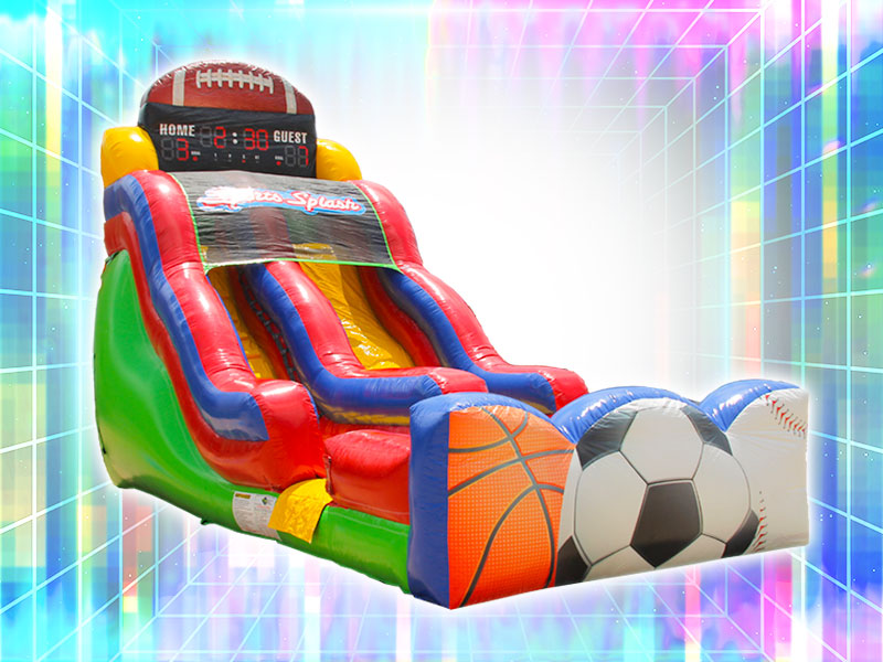 Inflatable Sports Themed Slide Rental